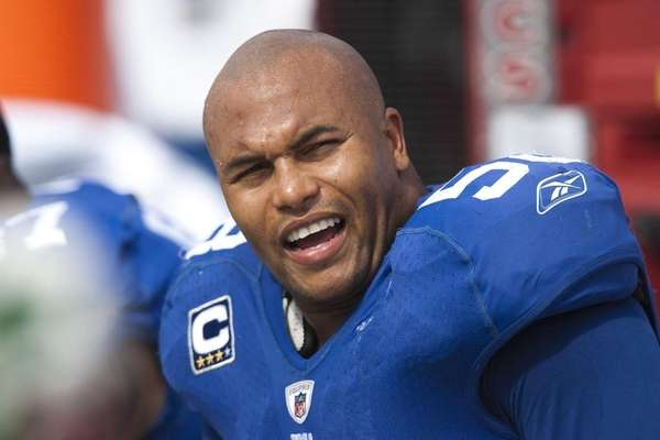 Antonio Pierce was released by the Giants in