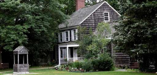 Poet Walt Whitman's birthplace in Huntington Station is