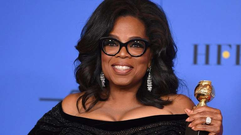 Oprah Winfrey Visits Grave Of Woman Honored In Golden Globes