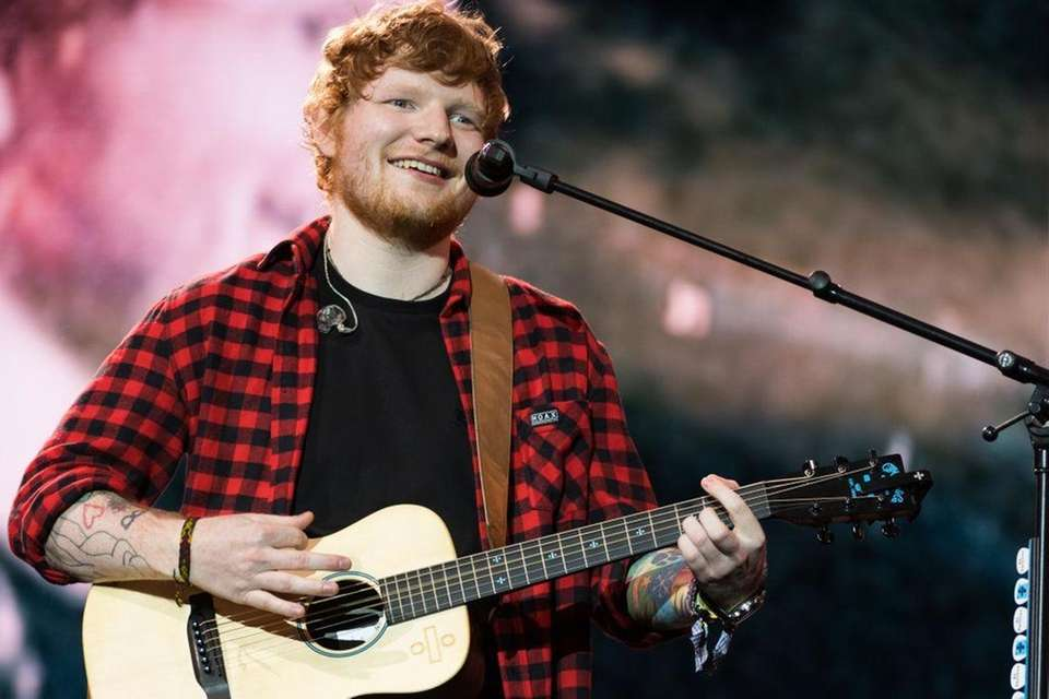 Ed Sheeran finished 2017 with the No. 1