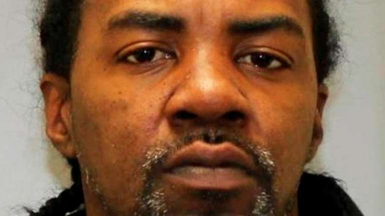 Herby Legros, 40, of Wheatley Heights, was arrested