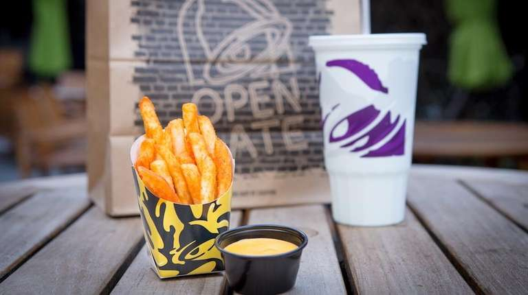 Taco Bell Nacho Fries For $1