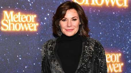 Luann de Lesseps at opening night of