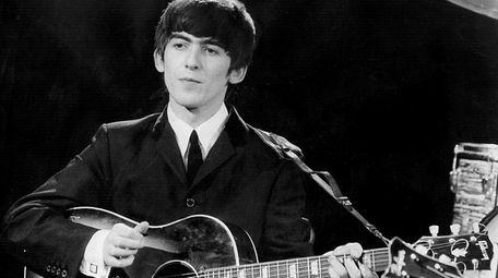 Beatles guitarist and singer George Harrison on Dec.