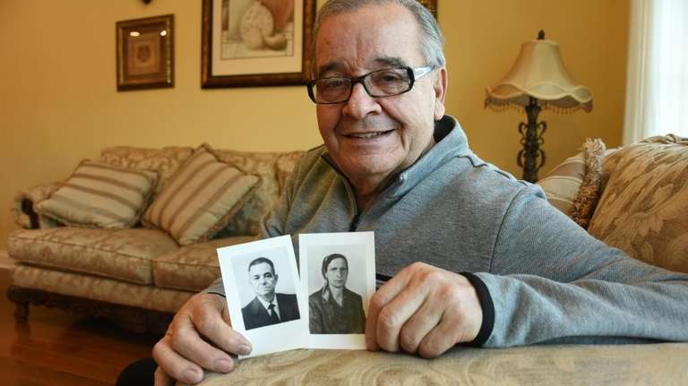 Anthony D'Urso, 78, an Italian immigrant and state