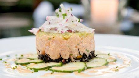 Montauk fluke tartare is on the menu at