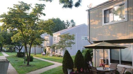 The Siena Village senior apartment complex in Smithtown,