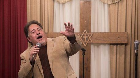 Daniel Rodriguez, an operatic tenor, performs at Samantha's