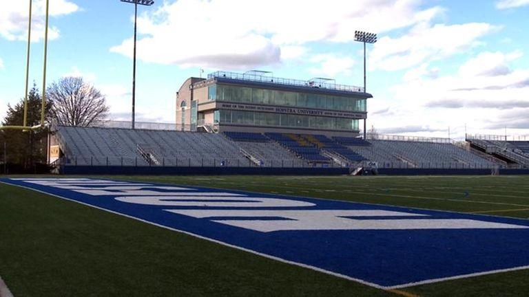 Shuart Stadium at Hofstra University. (December 3, 2009)