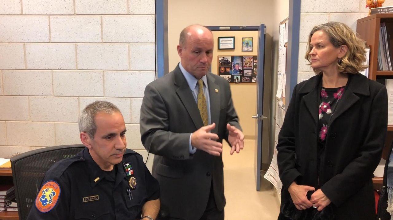 Patrick Ryder, nominated to become Nassau's police commissioner,