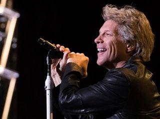 Jon Bon Jovi from the band Bon Jovi