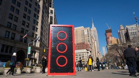 A LEGO - at 10 feet tall -