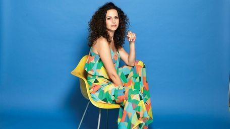 Mandy Gonzalez, who plays Angelica Schuyler in