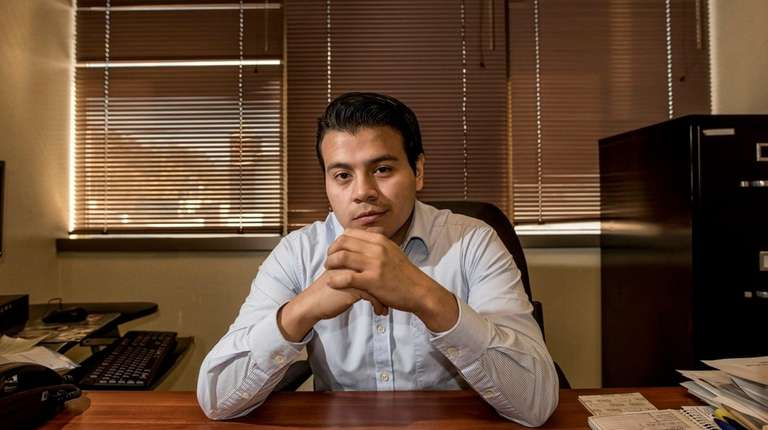 DACA recipient Nelson Melgar, of Glen Cove, who