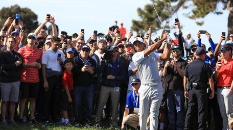 SAN DIEGO, CA - JANUARY 27: Tiger Woods
