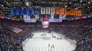 Islanders fans anticipating the start of the team's