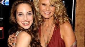 Alexa Ray Joel and her mother Christie Brinkley