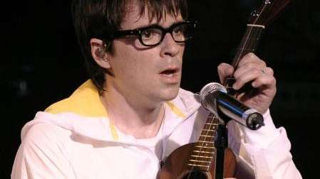 Rivers Cuomo of Weezer performs as part of