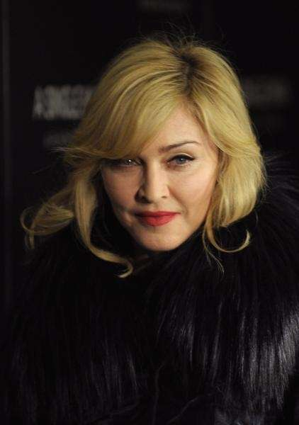 Singer Madonna attends a special screening of