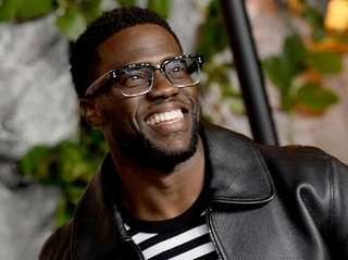 Kevin Hart attends the UK premiere of