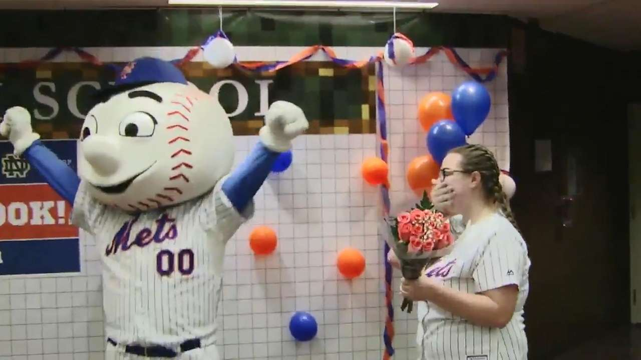 On Thursday, Jan. 25, 2018, Mr. Met went to