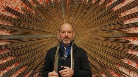 Singer Michael Stipe of R.E.M. attends the premiere