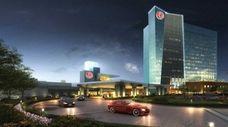 Rendering of the Resorts World Catskills, a casino