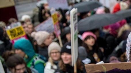 The Women's March of Jan. 20, 2018, in