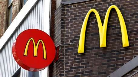 McDonald's restaurant in downtown Pittsburgh on April 24,