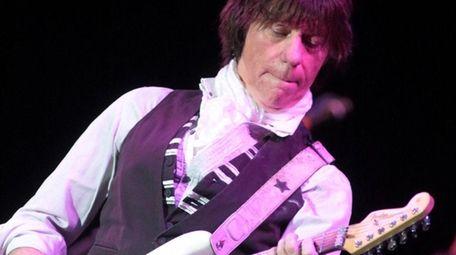 Guitarist Jeff Beck at the Strand-Capitol Performing Arts