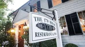 The 1770 House restaurant in East Hampton, as