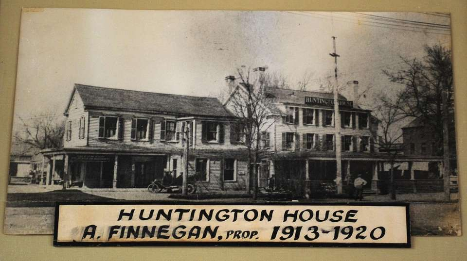 Finnegan's Restaurant & Tap Room, with its tin