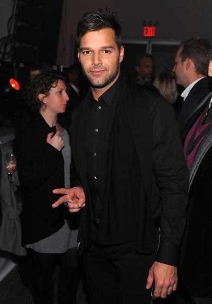 NEW YORK - DECEMBER 08: Ricky Martin attends