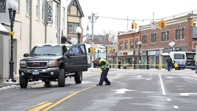 A pedestrian was fatally struck by a pickup