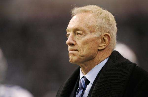 No. 9) JERRY JONES There is no Cowboys