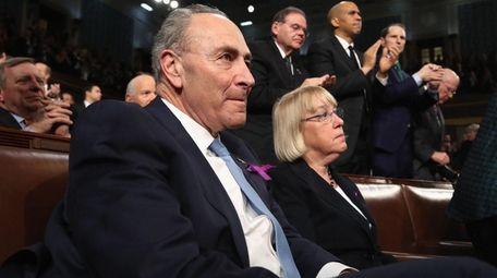 Democratic Sens. Chuck Schumer of New York and