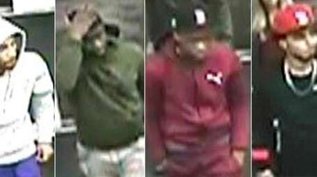 Suffolk County police released photos of men who