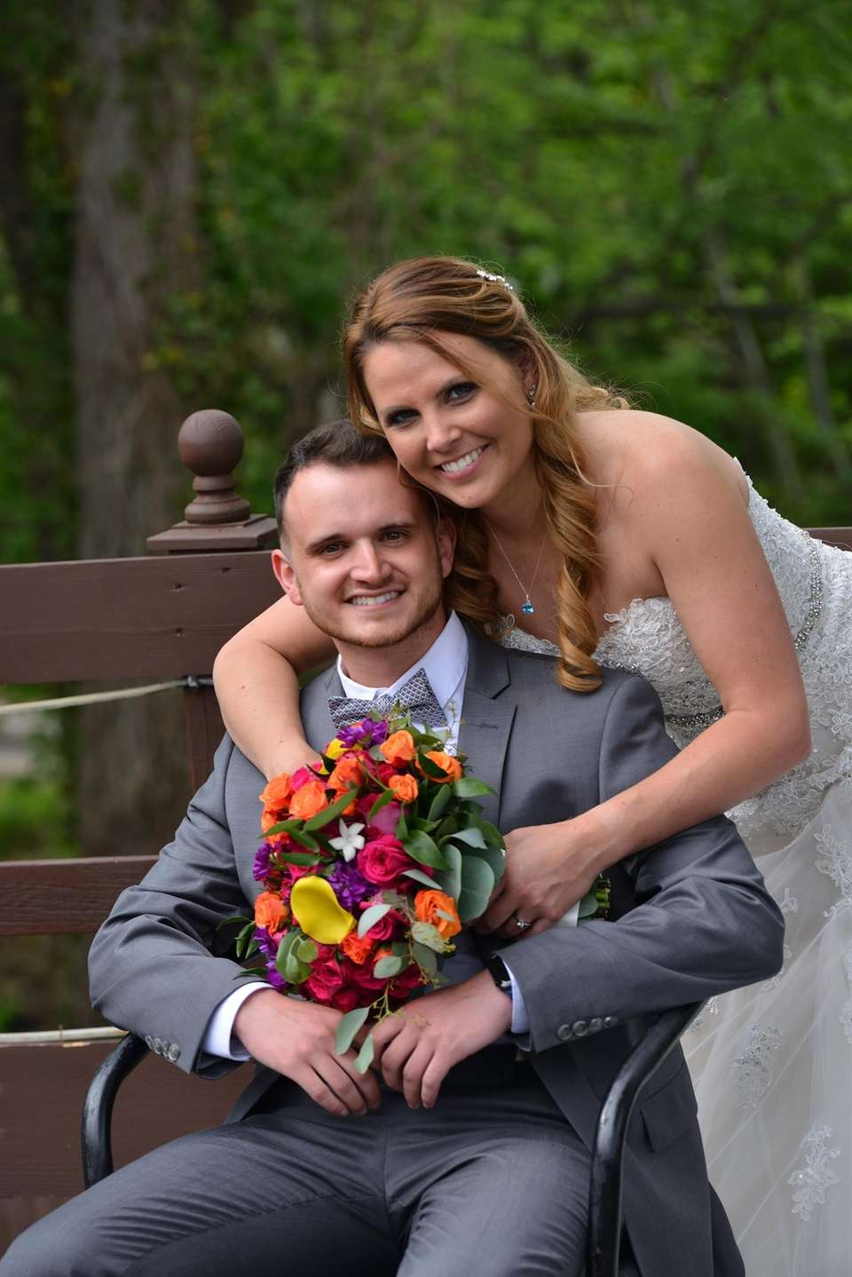 Courtney and Anthony Bongiorno were married on May