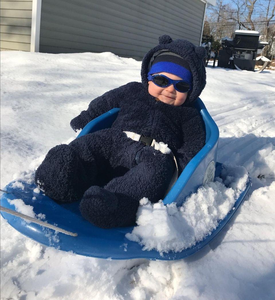 First sleigh ride