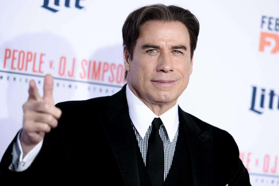 John Travolta was born Feb. 18, 1954.