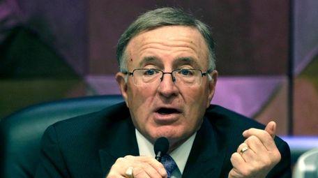 Republican Sen. John DeFrancisco has thrown his hat