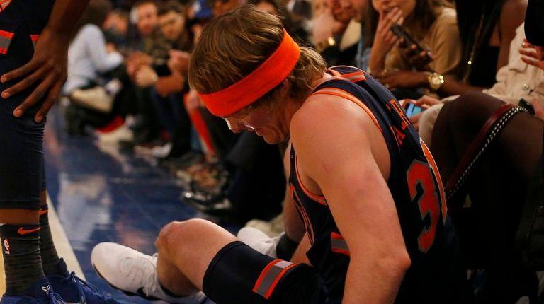 Joakim Noah future with Knicks uncertain