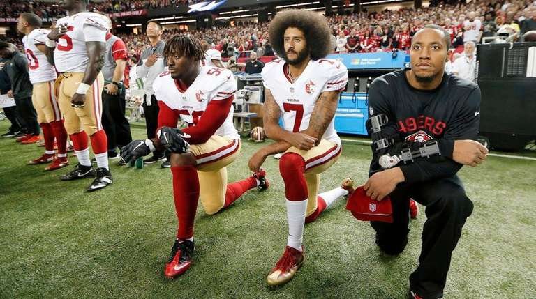 Colin Kaepernick Completes $1 Million Pledge Goal, Usher With The Assist