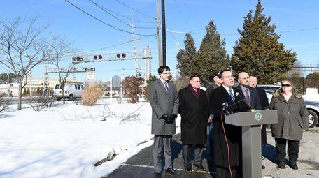 Brookhaven Councilman Dan Panico on Jan. 31, 2018,