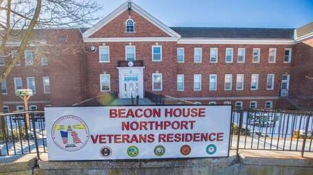 The homeless shelter for veterans at the Northport