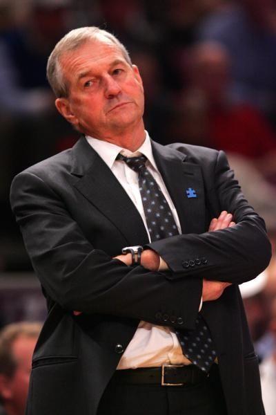 Head coach Jim Calhoun of the Connecticut Huskies