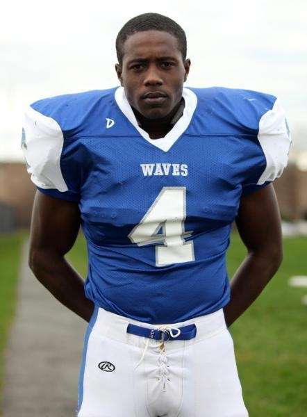 MALCOLM CATER Riverhead, Linebacker Senior, 6-3, 225 pounds
