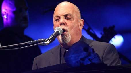 Billy Joel performs in concert at Madison Square