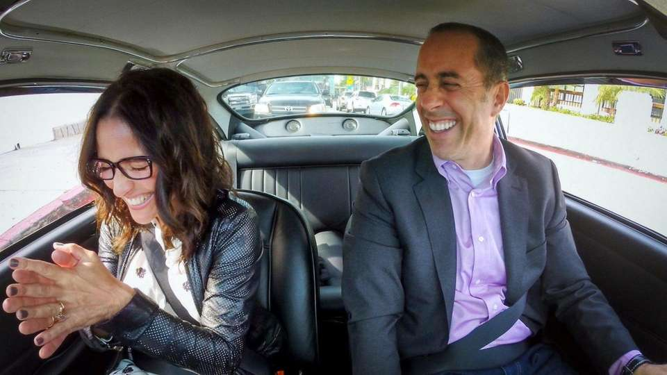 Crackle Seinfeld Riding In Cars Getting Coffee