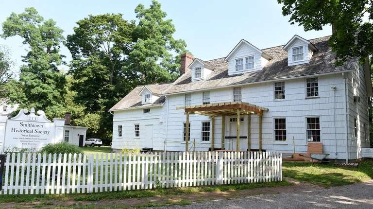 The Smithtown Historical Society, seen on July 17,